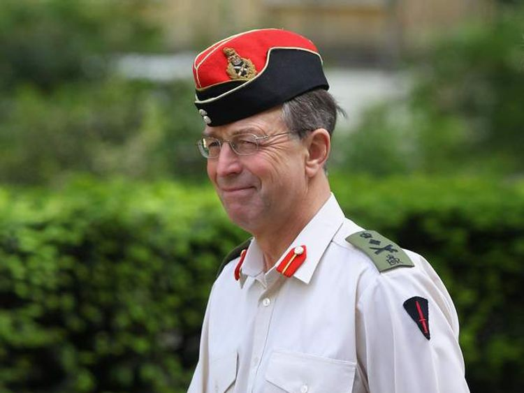 General Sir David Richards, the Chief of the Defence Staff