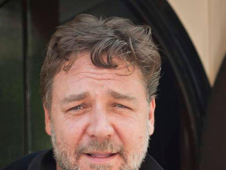 Oscar-winning actor Russell Crowe