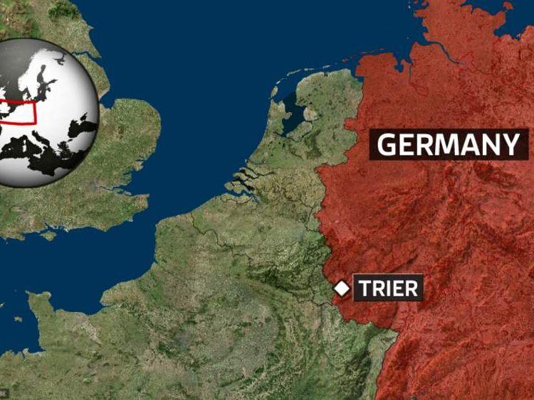 Plane crash near Trier in Germany
