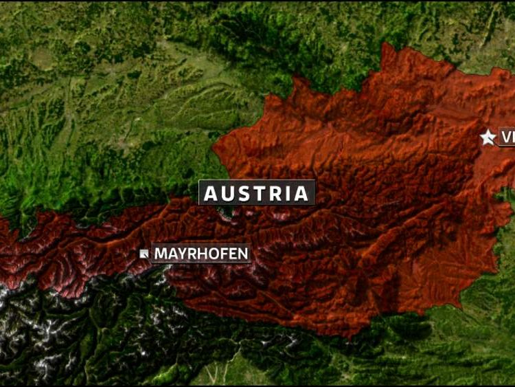 Mayrhofen Austria Skiiing Accident