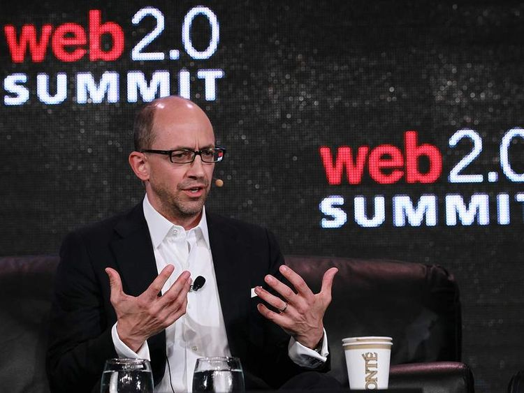Twitter CEO Dick Costolo speaks during the 2011 Web 2.0 Summit