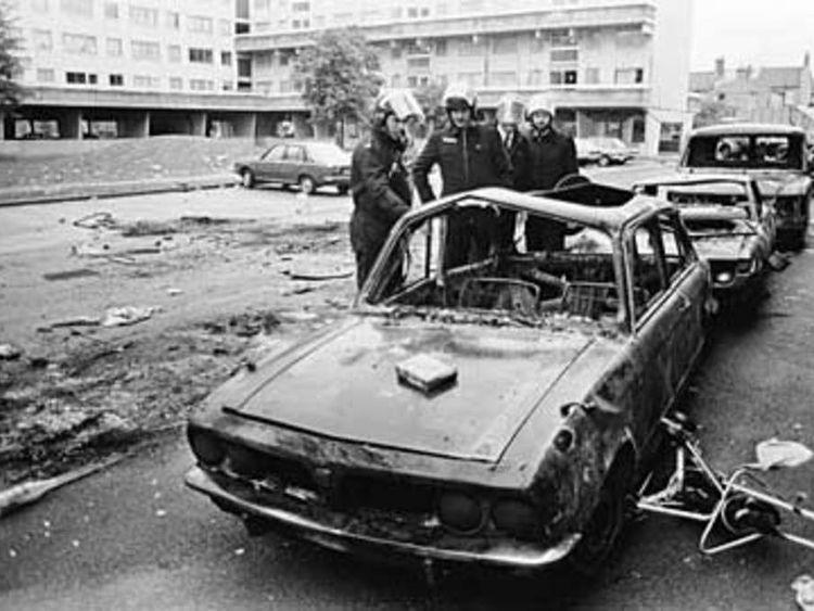95 Broadwater Farm riots 1985 tottenham
