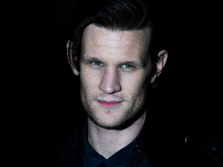 British actor Matt Smith poses as he arr