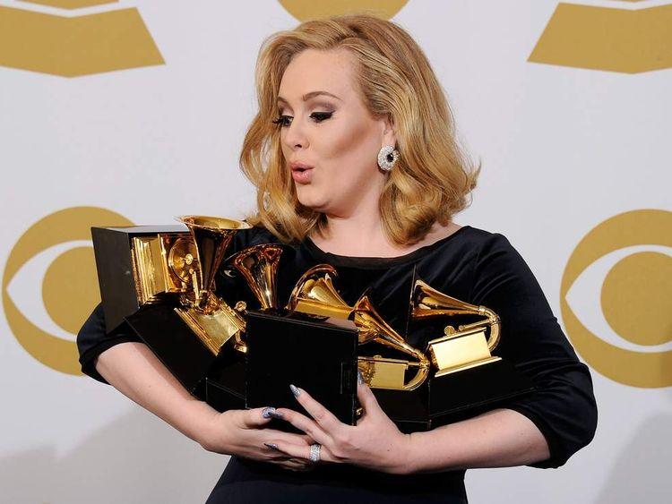 Adele at 2012 Grammys
