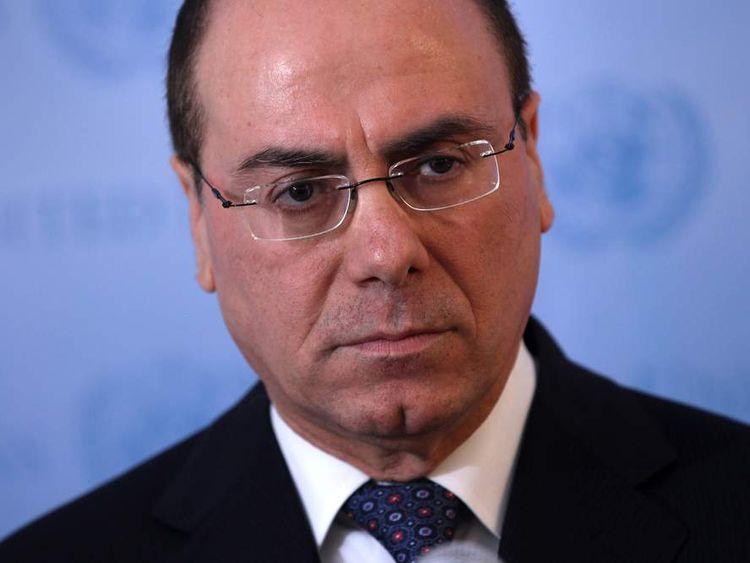 Israeli Minister Silvan Shalom