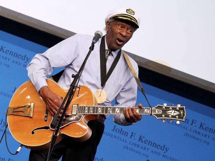 Chuck Berry plans comeback aged 86