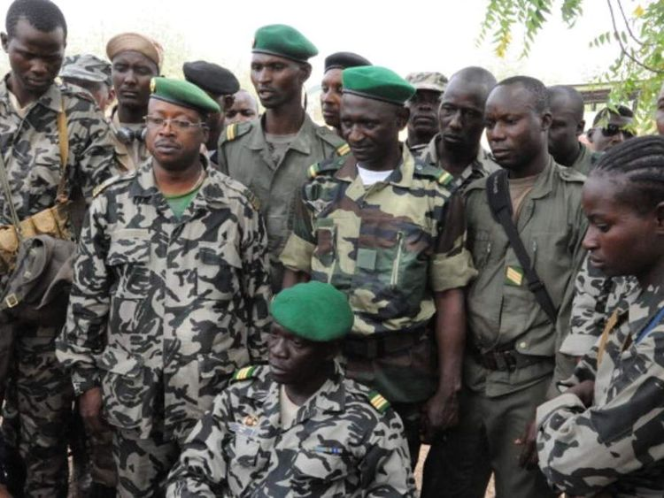 Mali junta leader Captain Amadou Sanogo