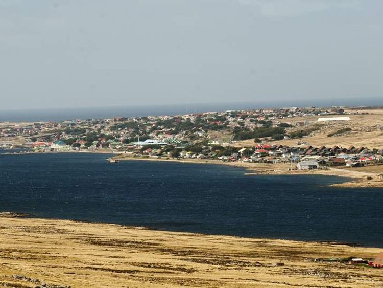 Picture of Port Stanley, in the Falkland