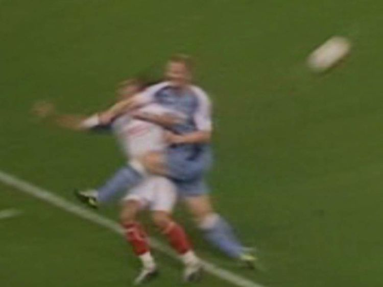 Ben Thatcher received an eight-game ban for this challenge on Pedro Mendes