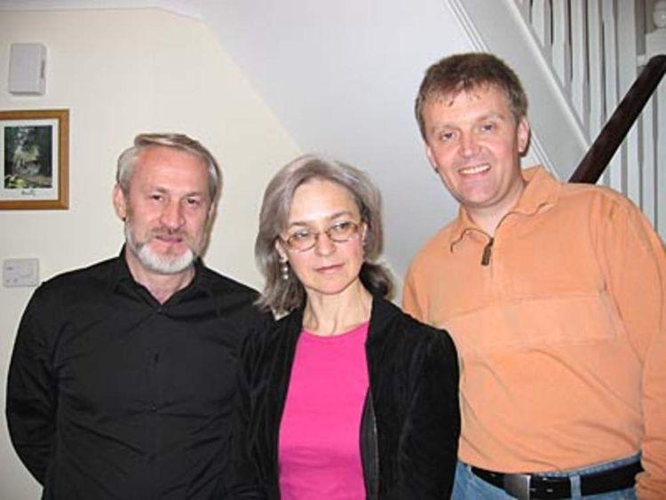 pg9 Alexander Litvinenko & Anna Politkovskaya