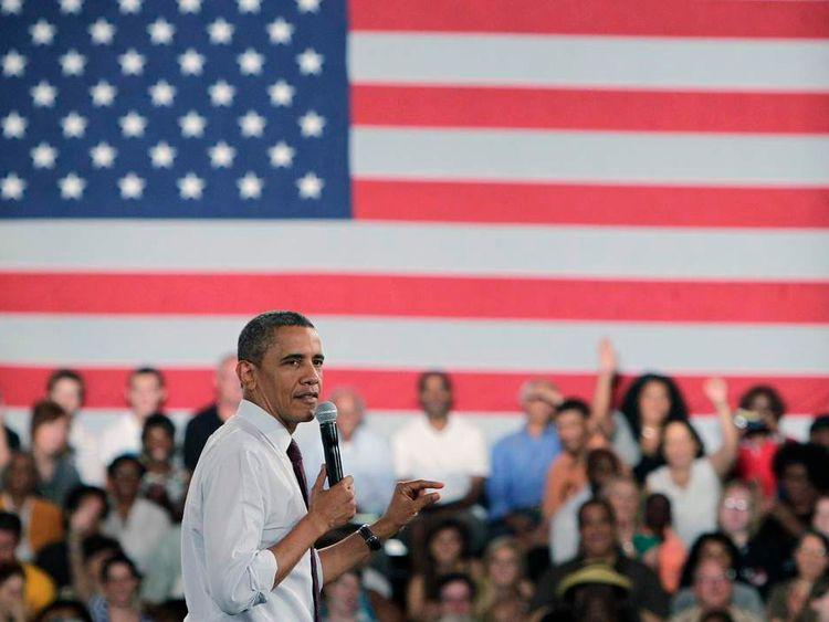 Obama in Cincinnati