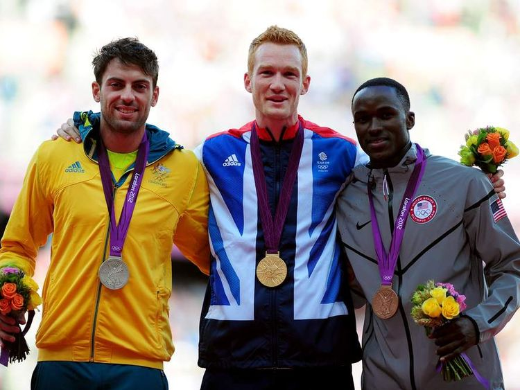 Mitchell Watt Greg Rutherford Will Claye Long Jump