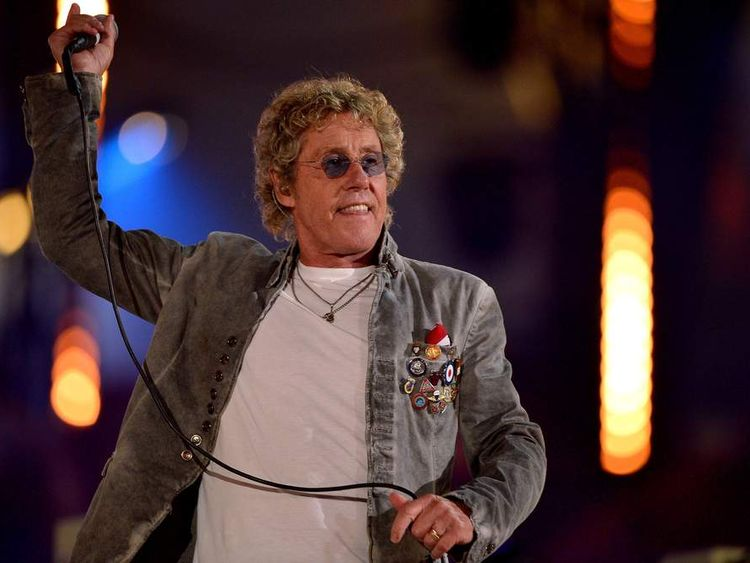 Roger Daltrey of The Who performs during the Closing Ceremony on Day 16 of the London 2012 Olympic Games