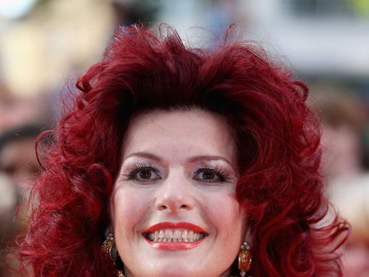 Cleo Rocos at Keith Lemon film premiere in London