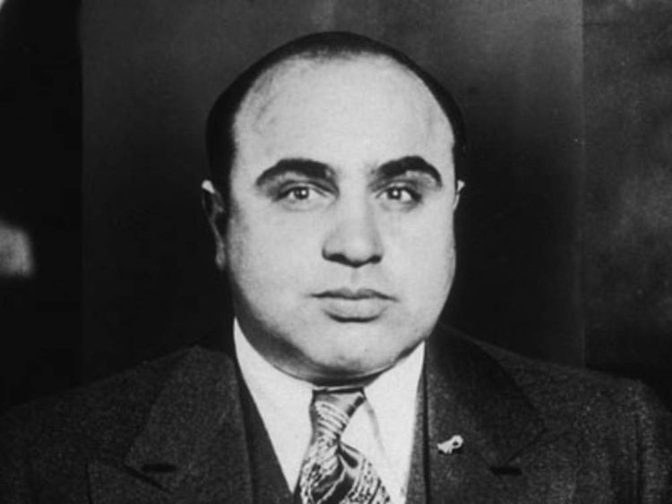 famous gangsters gallery CAPONE