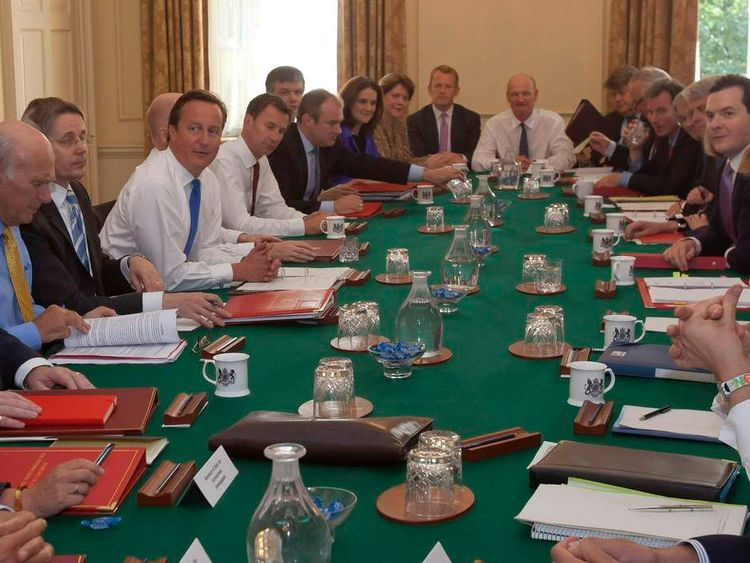 Cabinet meeting