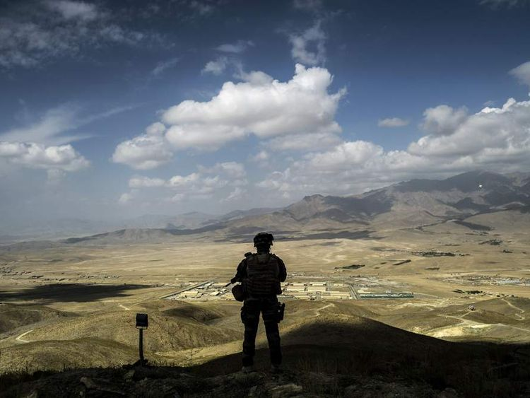 Wardak Province Afghanistan