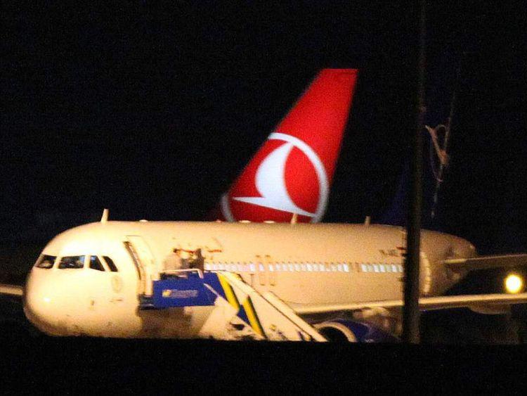 Syria Plane