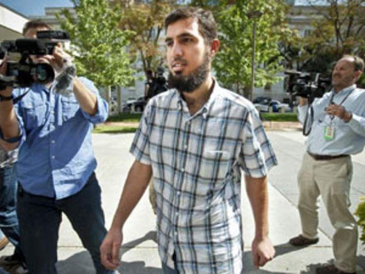 Terror plot suspect Najibullah Zazi, 24, in Denver, Colorado