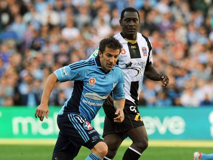 Alessandro Del Piero and Emile Heskey