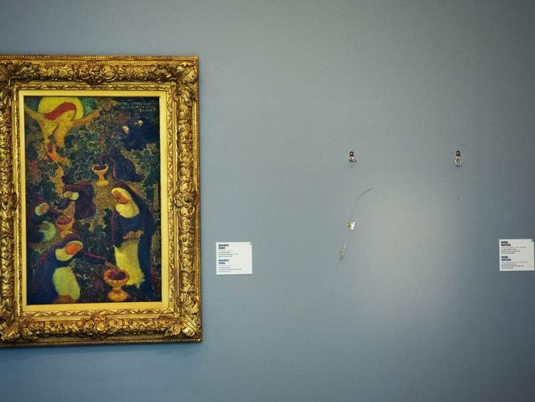 Seven works of art stolen in Netherlands museum may have been burned