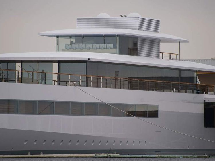 Venus - the luxury yacht commissioned by the late Steve Jobs