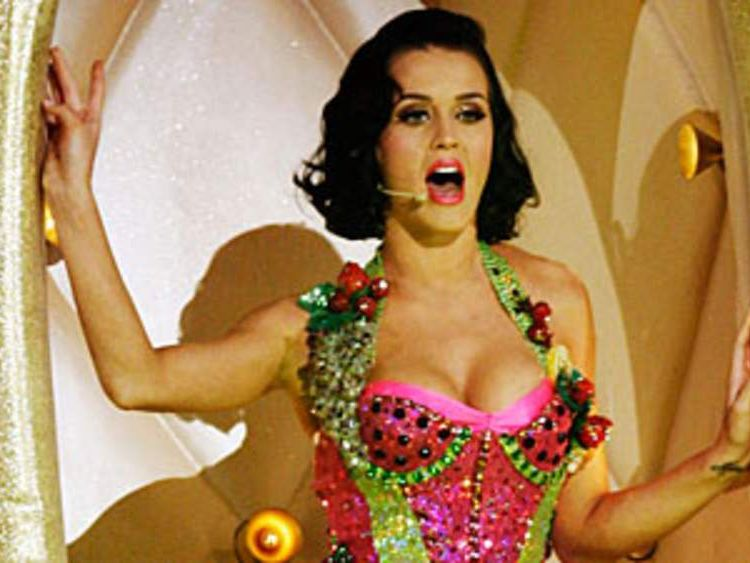 Katy Perry is one of the artists on the EMI label