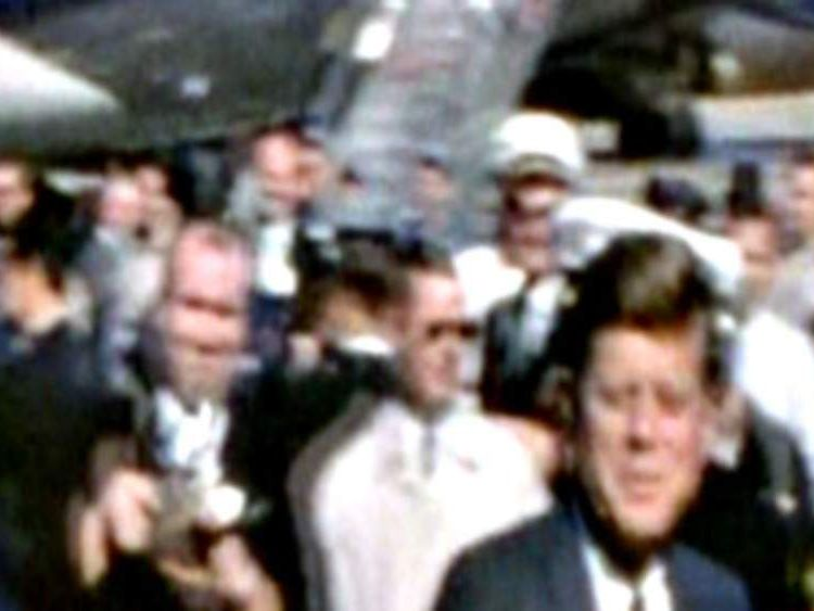 Colour Film Of JFK Arriving In Dallas On Day Of Assassination Revealed