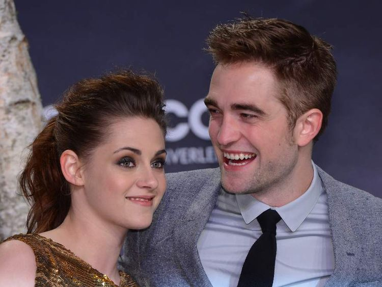 Kristen Stewart and Robert Pattinson at the Berlin premiere of The Twilight Saga: Breaking Dawn - Part 2