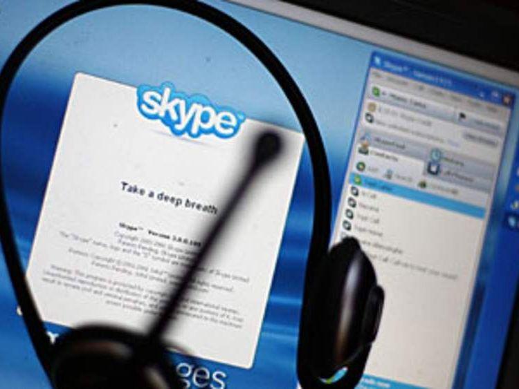 Internet phone service Skype