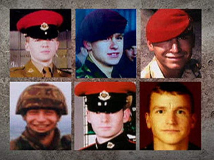 Six British military police officers killed in Iraq
