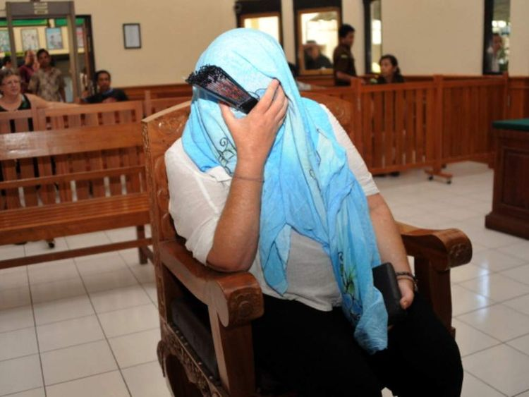 INDONESIA-BRITAIN-CRIME-DRUGS-TRIAL