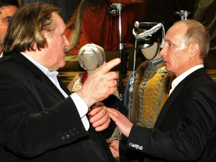 Depardieu And Putin