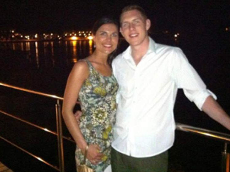 McAreavey Family handout photo of John and Michaela McAreavey on their honeymoon