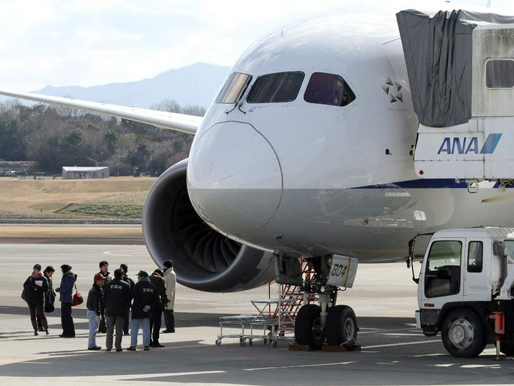 US FAA officials arrive in Japan to investigate a Boeing Dreamliner
