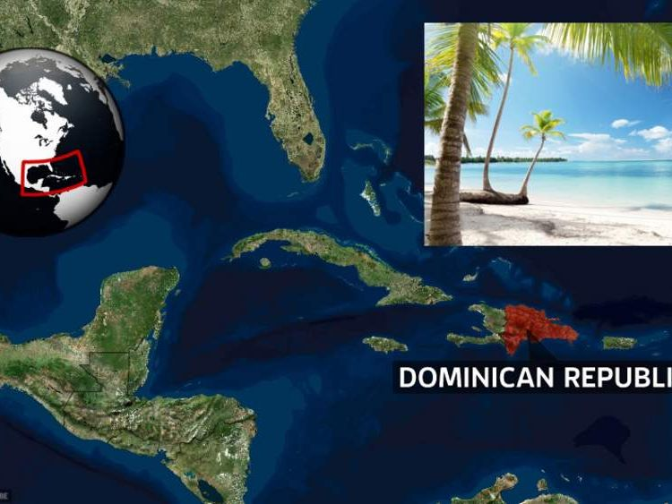 The Dominican Republic is in the Caribbean