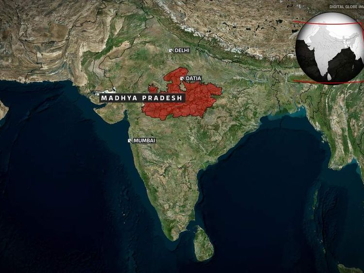 India Rape: location
