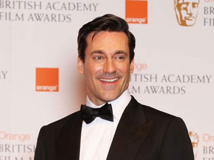 Actor Jon Hamm at Baftas