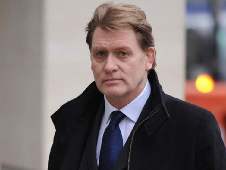 Eric Joyce MP arrives at City of Westminster Magistrates Court