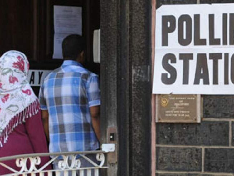 By election in Bradford West generic polling station