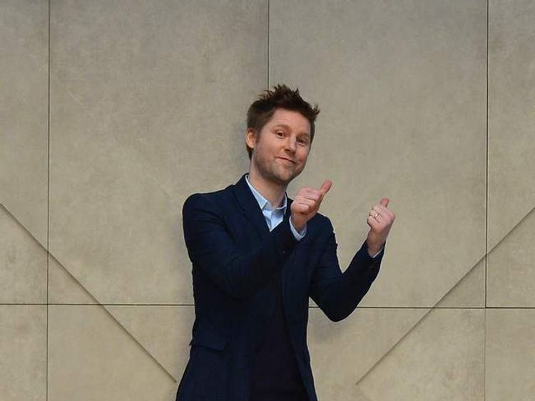 Burberry's chief creative officer Christopher Bailey