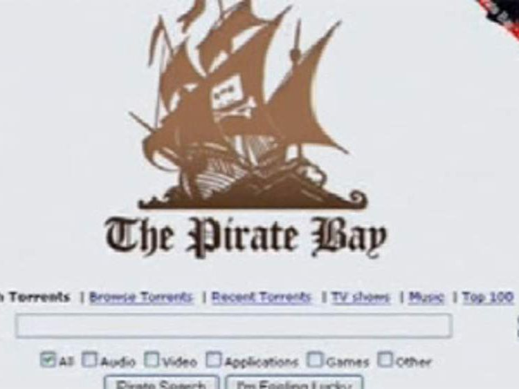 The Pirate Bay hosts links to download mostly-pirated free music and video