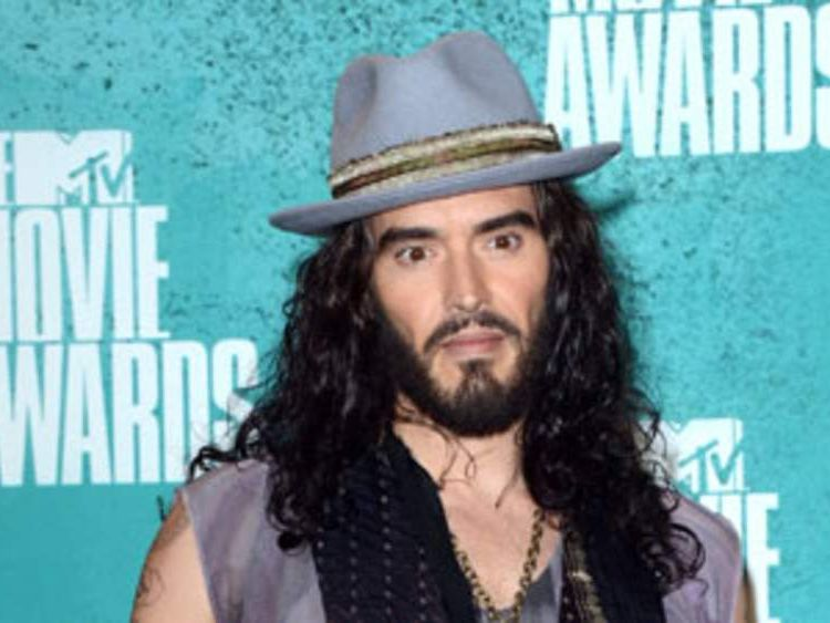 Russell Brand at MTV Movie Awards