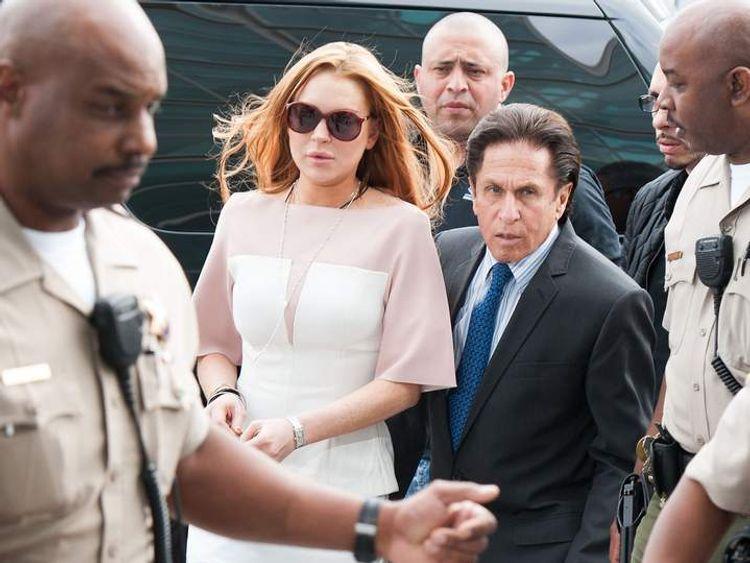 Lindsay Lohan Trial
