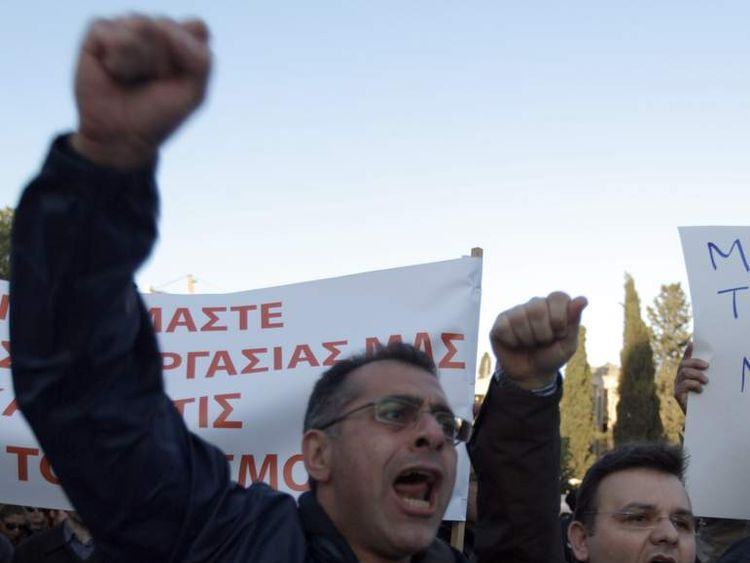Cyprus protests