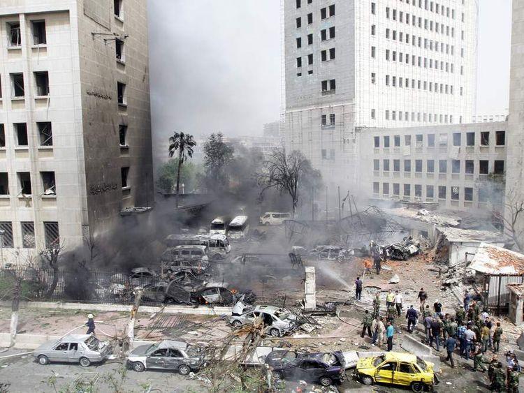 SYRIA-CONFLICT-DAMASCUS-BLAST