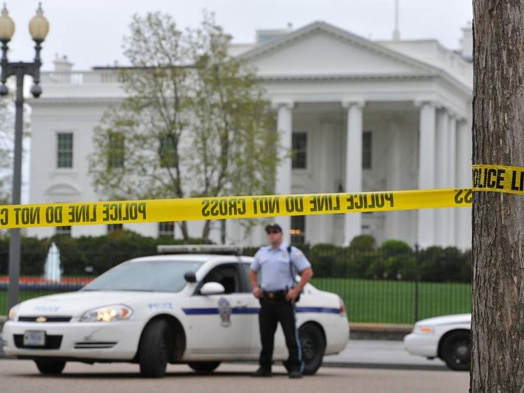 White House closed