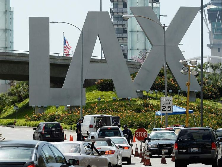 Security Increased At LAX After Multiple Explosions During Boston Marathon