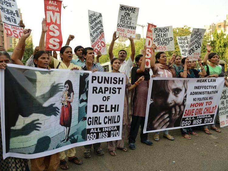 INDIA-RAPE-CRIME-CHILDREN-SOCIETY-CONDITION
