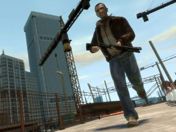 A still image from Grand Theft Auto IV